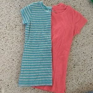NEW LIST EUC Girls 2 tees Size 6/7. Arizona